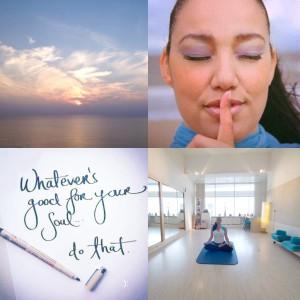 Cathy Samé Lottin Meditatie bij waves beach & health center Zandvoort