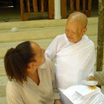 Wat kow tahm in Koh Phanang Cathy Samé Lottin Meditatie Waves, beach & health center Zandvoort