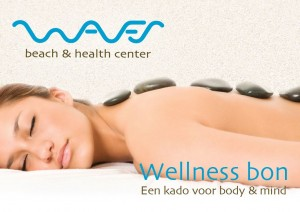Wellnessbon Cadobon Massage Waves, beach & health center Zandvoort door Cathy Samé Lottin