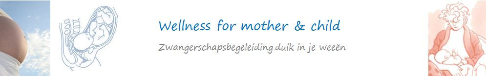 Zwangerschapscollage Wellness for mother and child