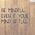 Be mindful even if your mind is full2
